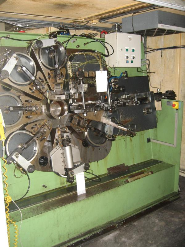 Bihler MACH05 Automatic Punching & Forming Machine with 6