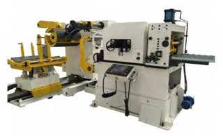 3 in 1 Combined Decoiler-Straightener-Feeder