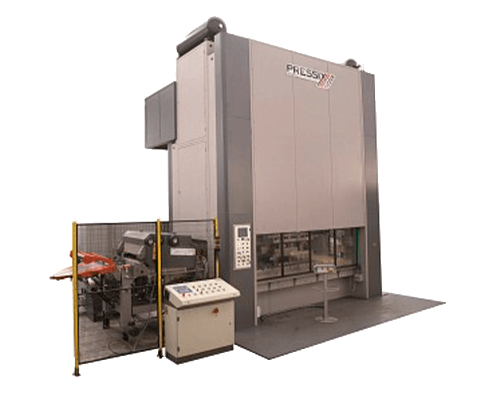 DM2CF/CC Series: presses with double connecting rod - Model 500-DM2