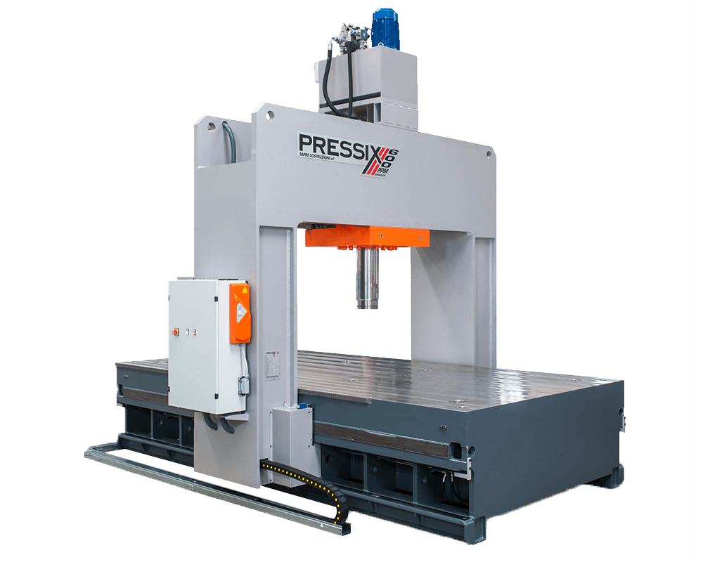 PPMi Series: straightening presses with moving portal - Model 600-PPMI-25